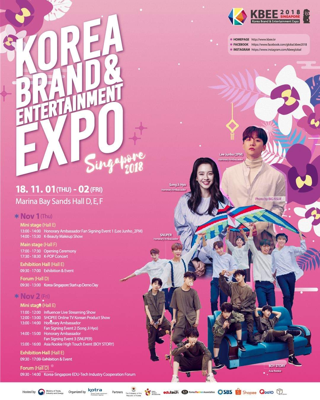 [EVENT] K-Stars are coming to Singapore this November!