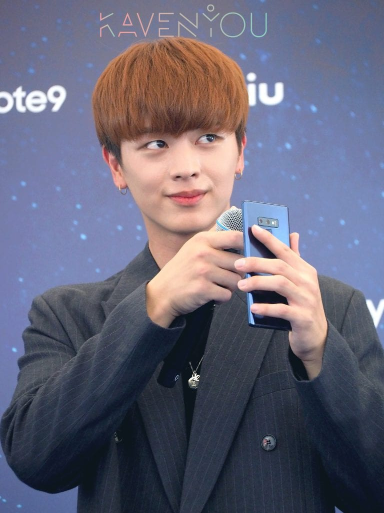 sung jae singapore samsung power with the stars galaxy note 9