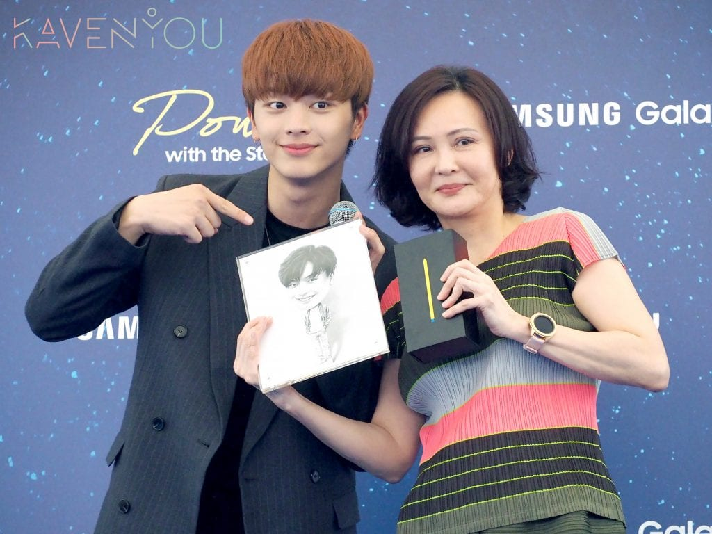 sung jae singapore samsung power with the stars