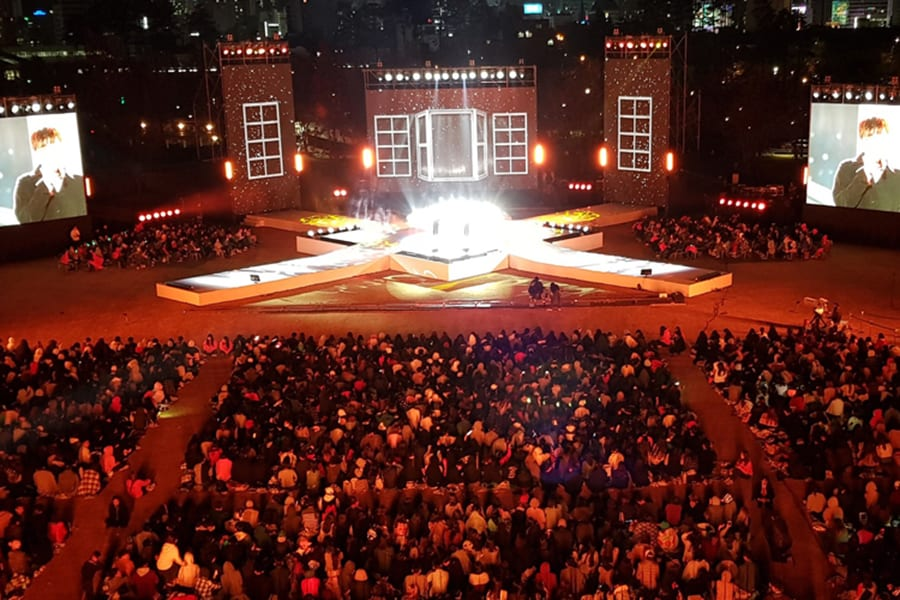 Busan One Asia Festival 2018 BOF Park Concert