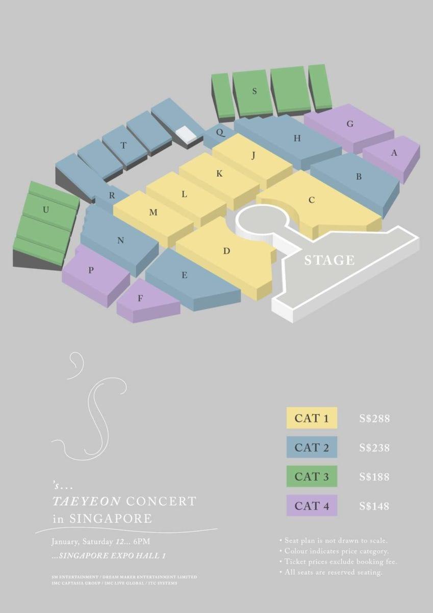 TAEYEON to hold solo concert tour in Singapore, Bangkok, Hong Kong and Manila