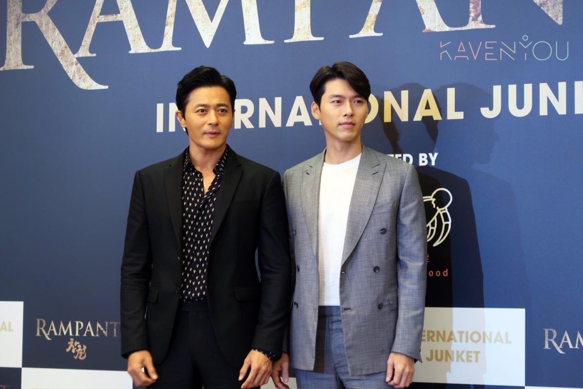 rampant korean movie jang dong gun hyun bin 3