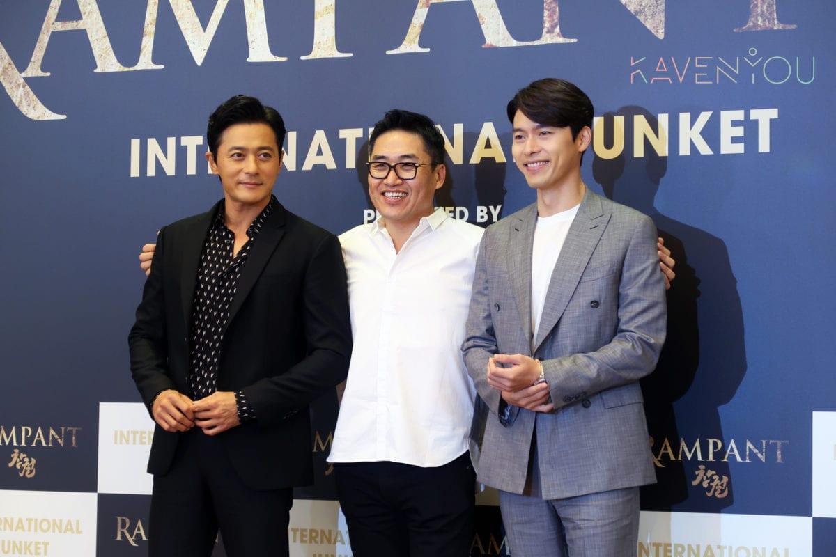 rampant korean movie jang dong gun hyun bin