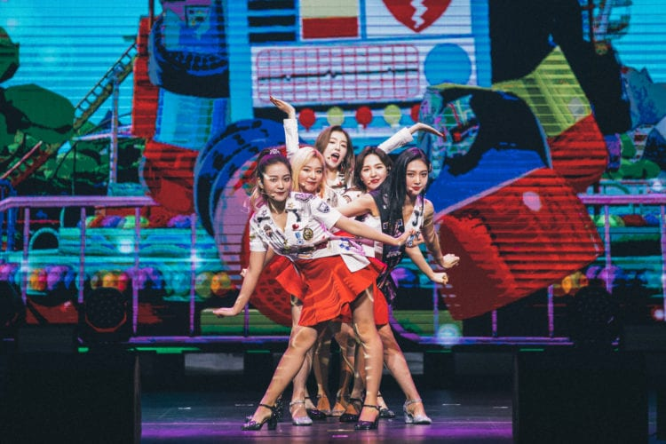 Red Velvet Redmare in singapore