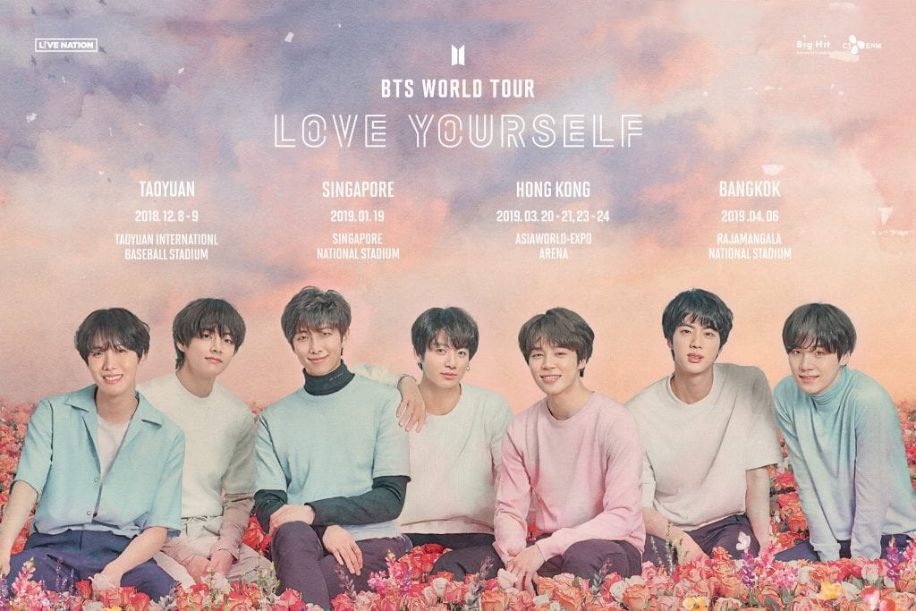 bts world tour love yourself singapore