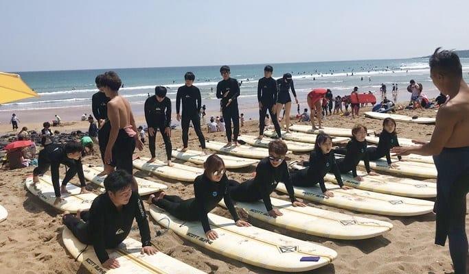 jeju pre-surfing water sports