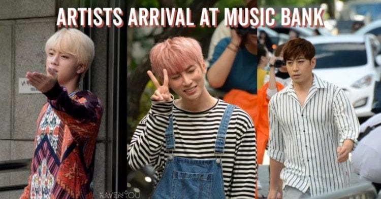 music bank-arrival