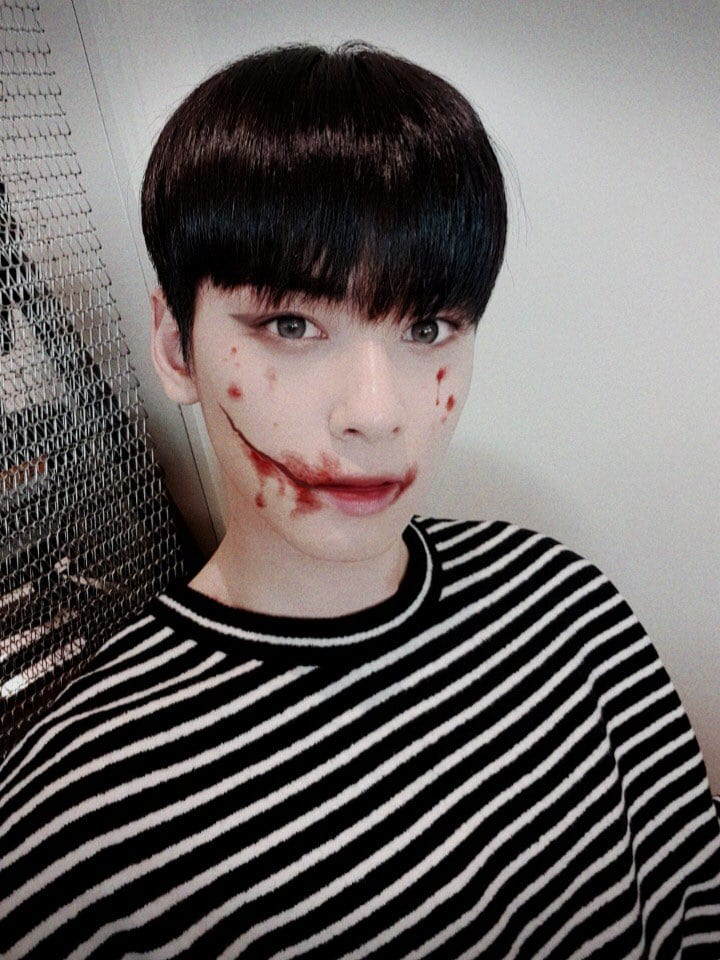 Halloween Gwynplaine Astro Eunwoo