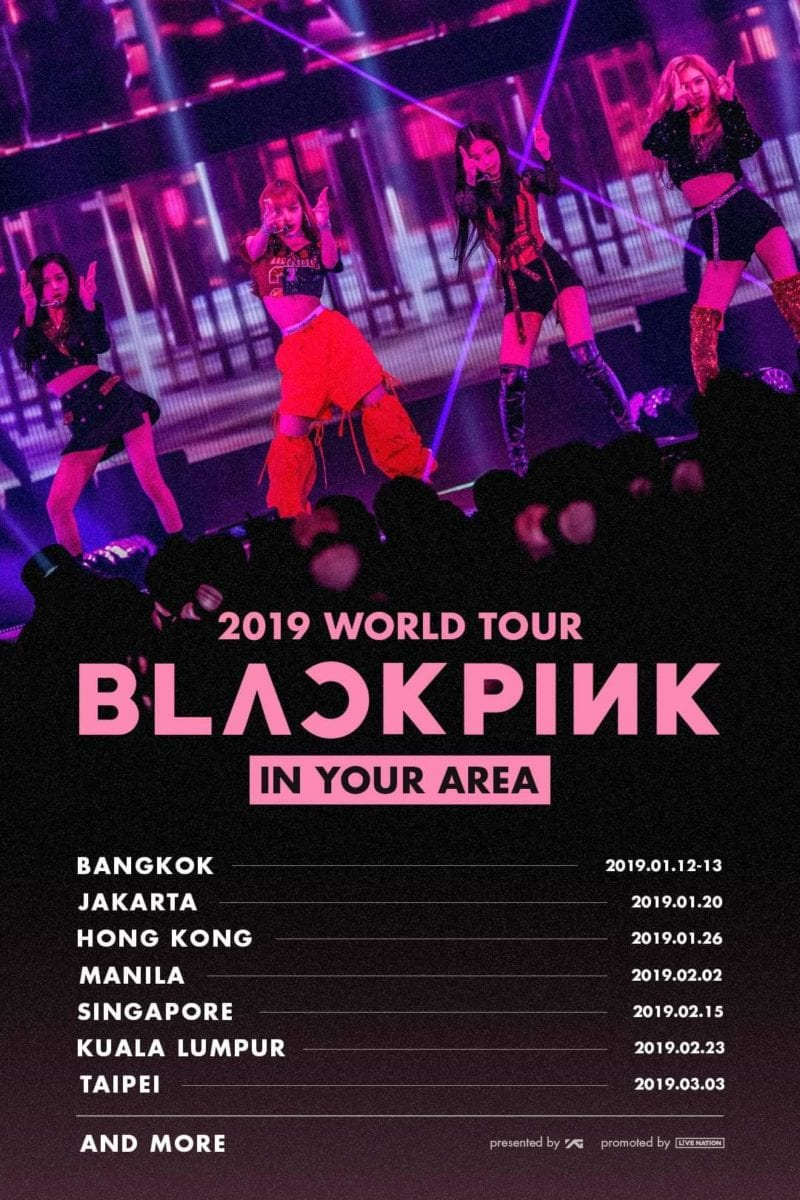 blackpink singapore in your area 2018