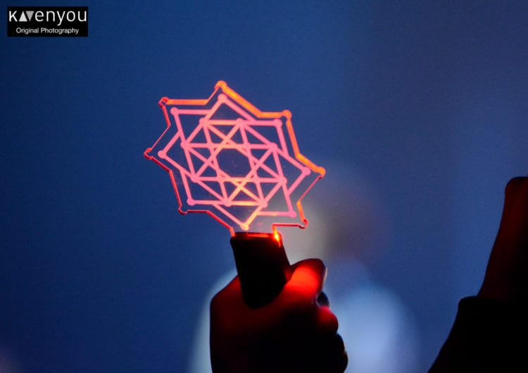 The Rose's lightstick