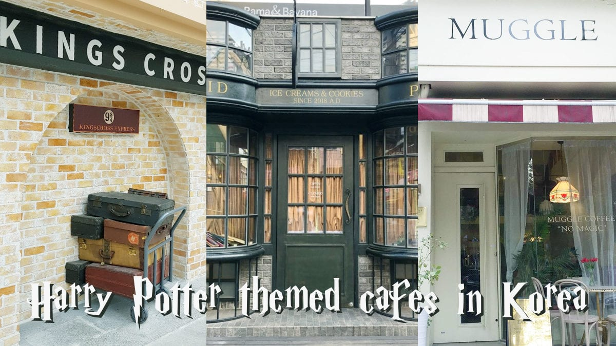 Be enchanted by these Harry Potter themed cafes in Korea!