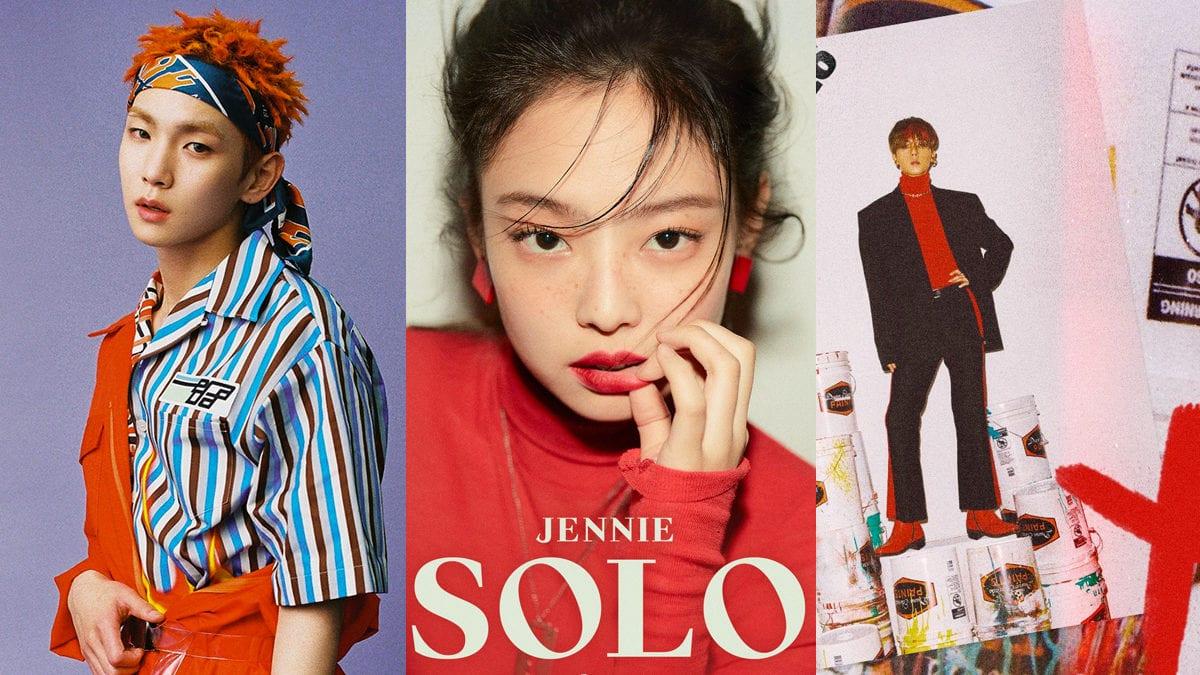 kpop solo debut