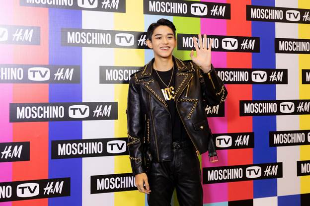 lucas nct h&m moschino tv