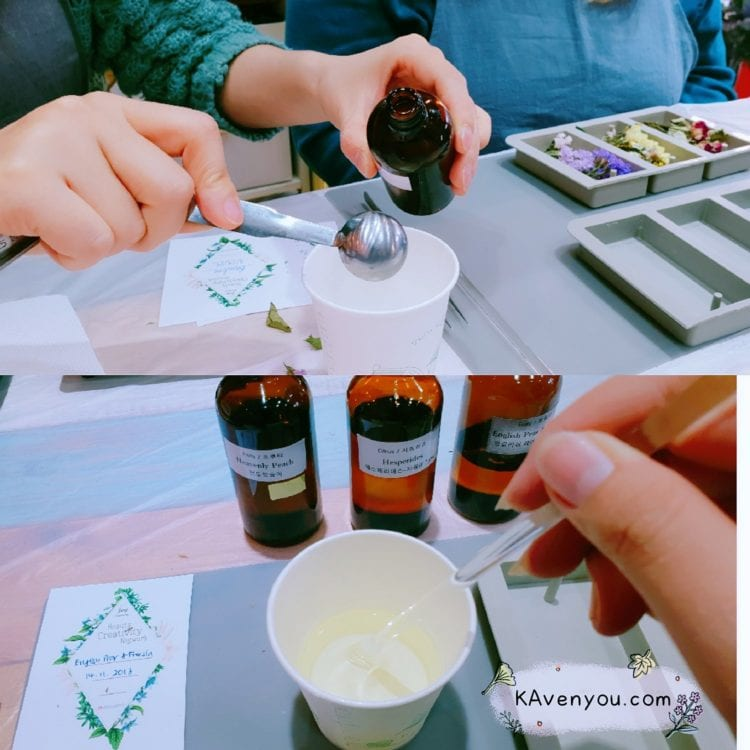 Trazy - Fragrant Flower Wax Tablet Workshop .