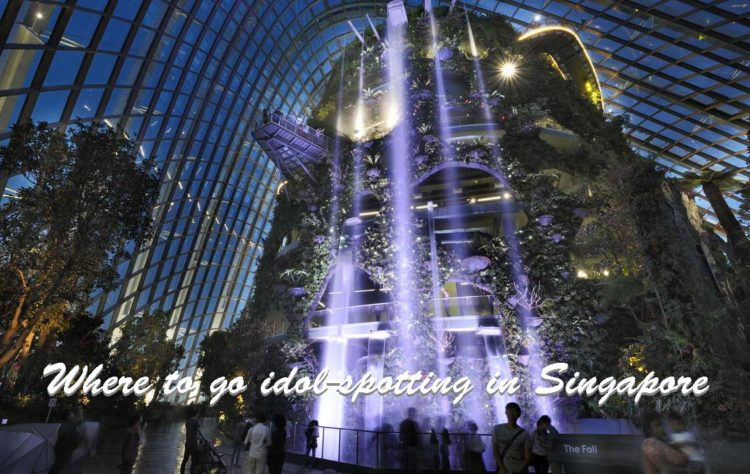 Gardens by the Bay visit Singapore holiday poster