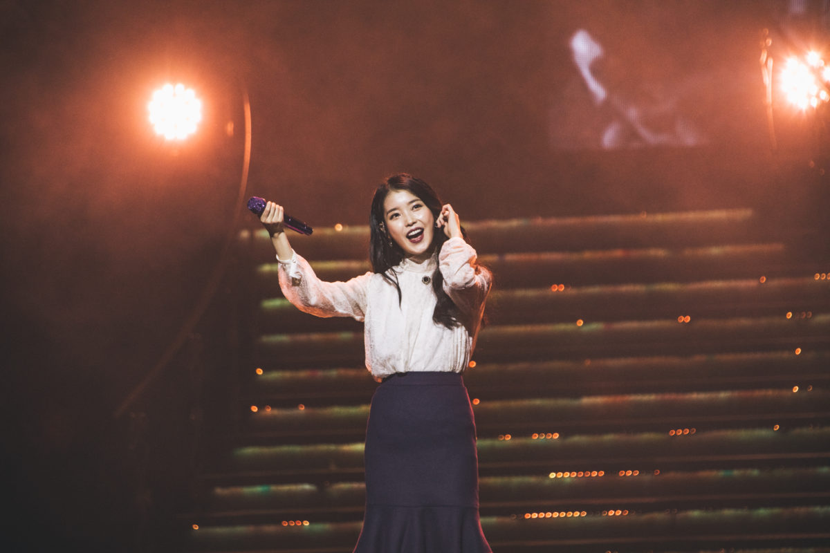 IU showcases 10 years of greatest hits at first ever Singapore concert
