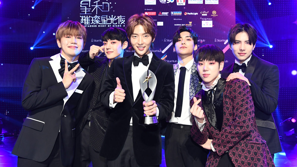 A.C.E, WJSN, Jeong Sewoon, Lee Joon Gi earn deserved recognition at StarHub Night of Stars