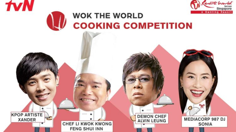 Catch Xander at Wok The World Cooking Competition in Sentosa
