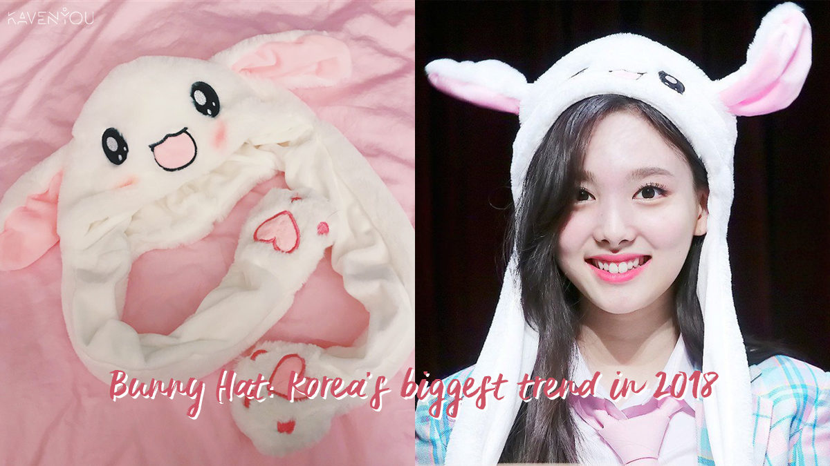 Bunny Hat - the biggest trend in Korea this year