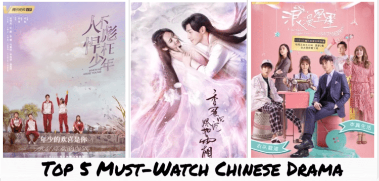 [Drama] Top 5 Chinese Drama to watch in 2019 (February Edition)