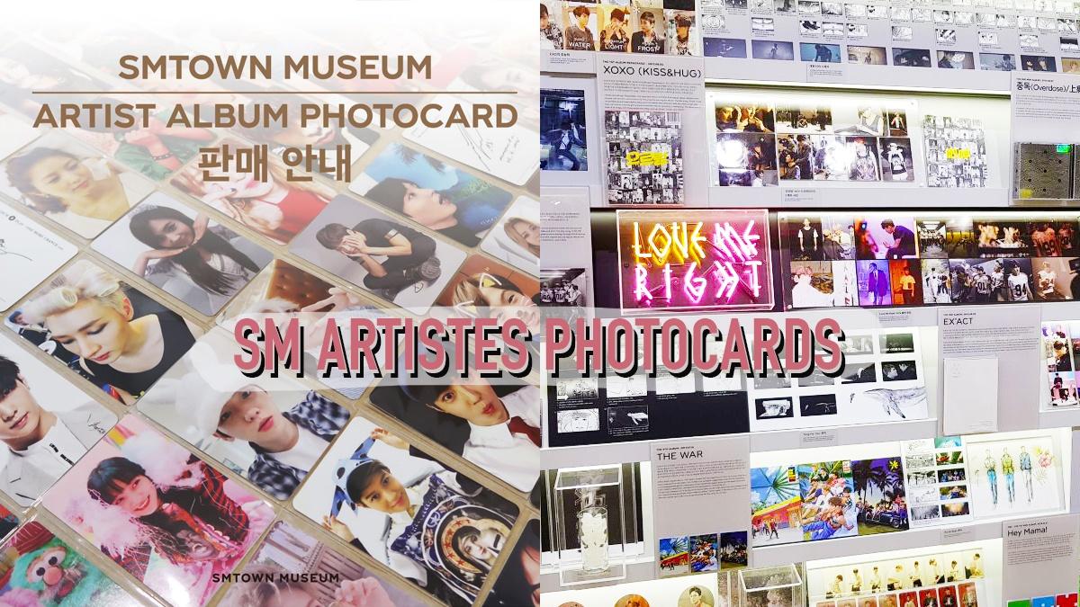 sm photocards