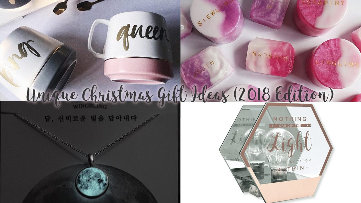 5 Unique Christmas Gift Ideas (2018 edition)