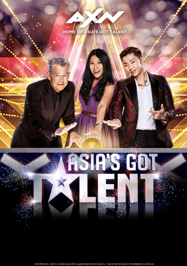 Iconic judges return for the third season of Asia's Got Talent