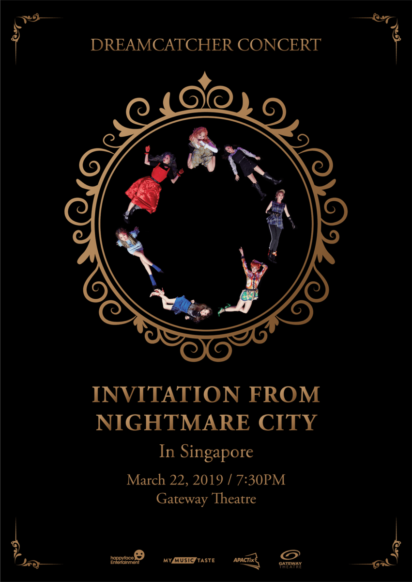 [EVENT] DREAMCATCHER invites you to their Nightmare City in Singapore!