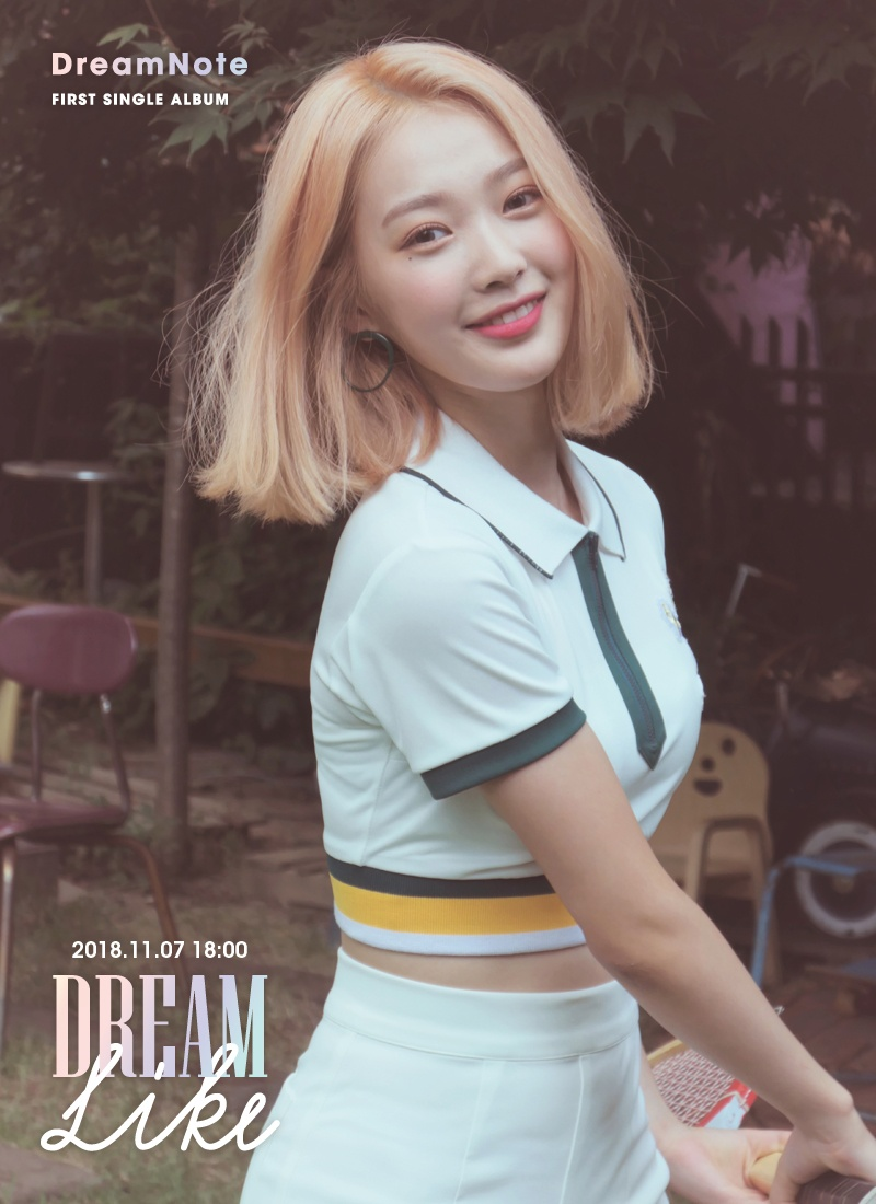 DreamNote kpop girl group miso