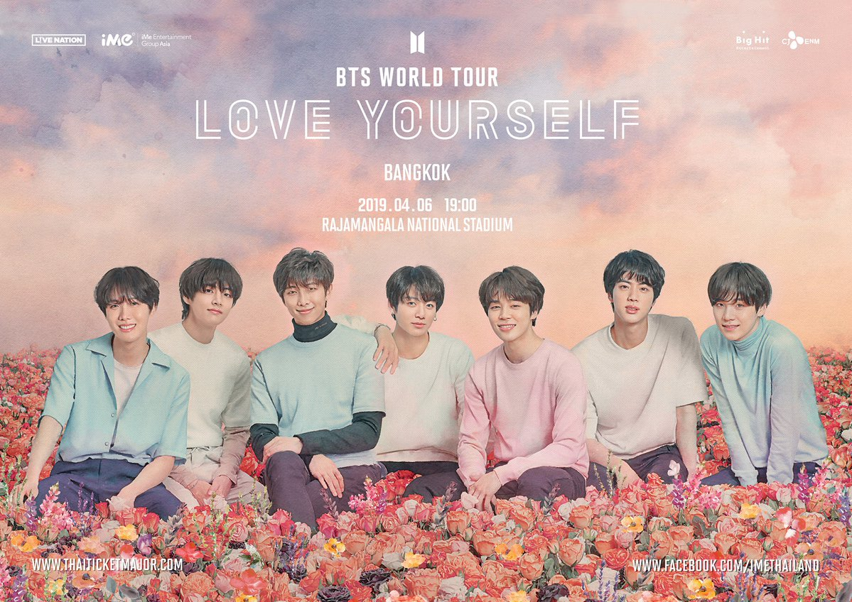 [EVENT] BTS 'Love Yourself' World Tour in Bangkok *Extra tickets released*