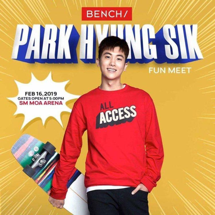 park hyung sik manila bench