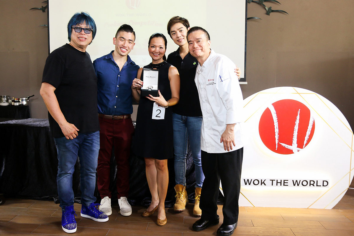[INTERVIEW] Xander professes his love for Singapore food at Wok The World Cooking Competition
