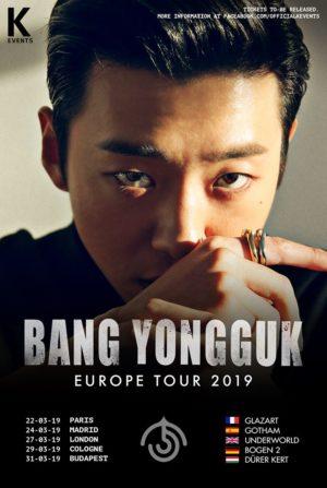 Re-discover Bang Yongguk during his Europe Tour!