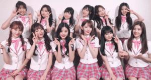 IZONE girl group Produce 48