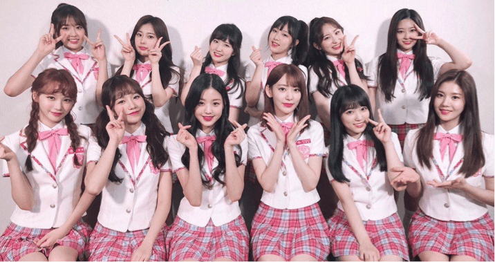 IZONE girl group Produce 48