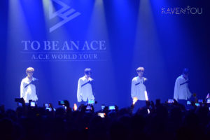 A.C.E. went on a successful adventure in Paris for their 1st world tour