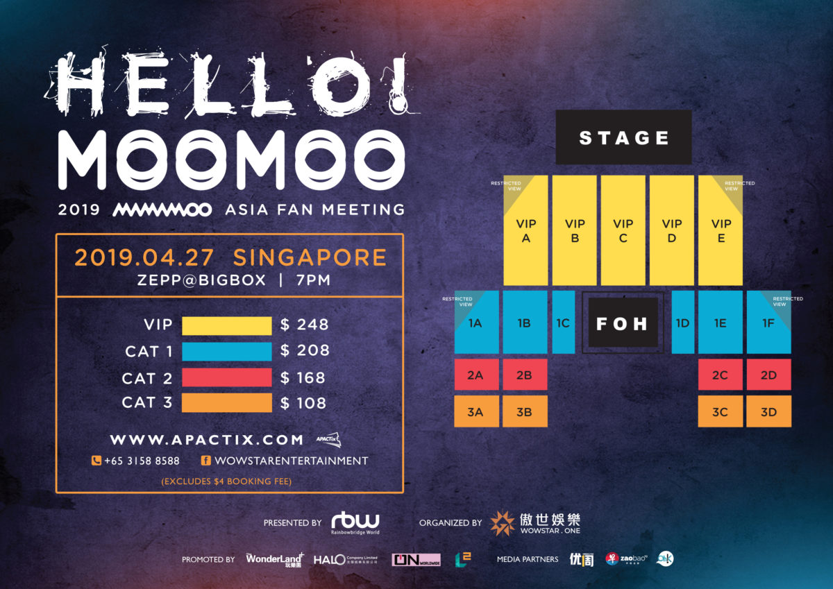 [EVENT] 2019 MAMAMOO HELLO! MOOMOO Asia Fan Meeting comes to Singapore on 27 April