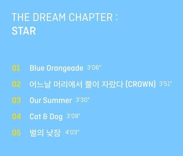TOMORROW X TOGETHER Debuts Album 'The Dream Chapter: STAR'