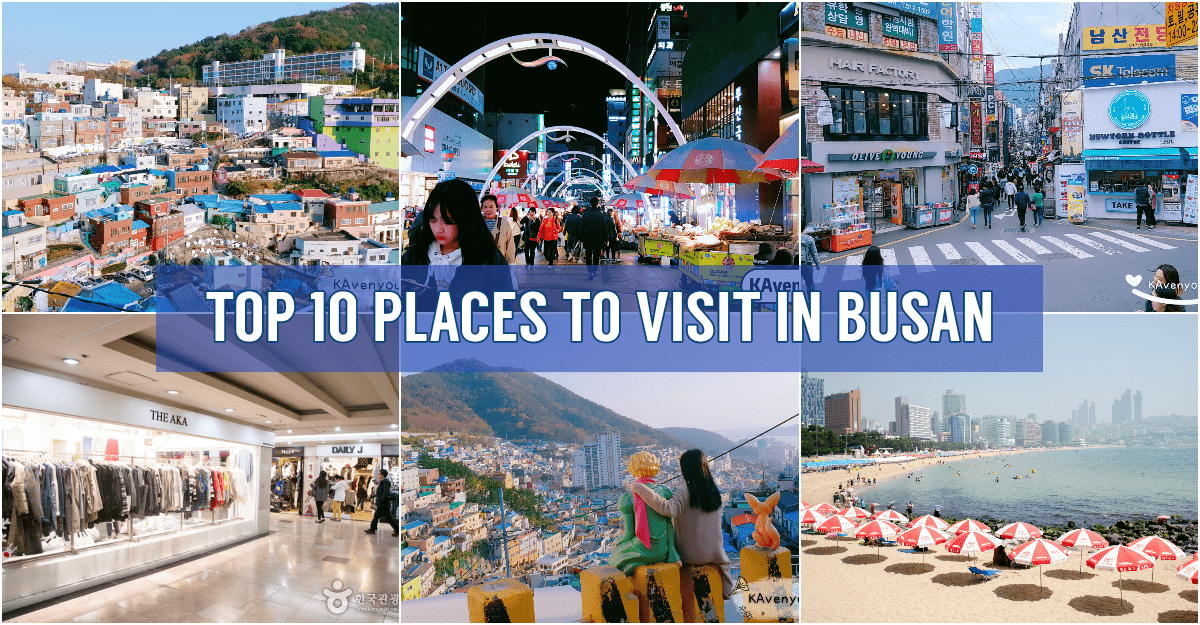 [WANDERLUST] Top 10 Places You Must Visit in Busan
