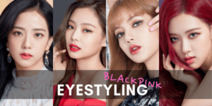 eyestyling blackpink choosing colored contact lens