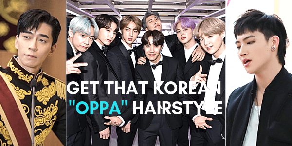 korean oppa men hairstyle