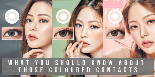 things you should know about colored contact lens