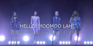 Hello Moo Moo Lah! Mamamoo Asia Fan Meeting Our in Singapore 2019