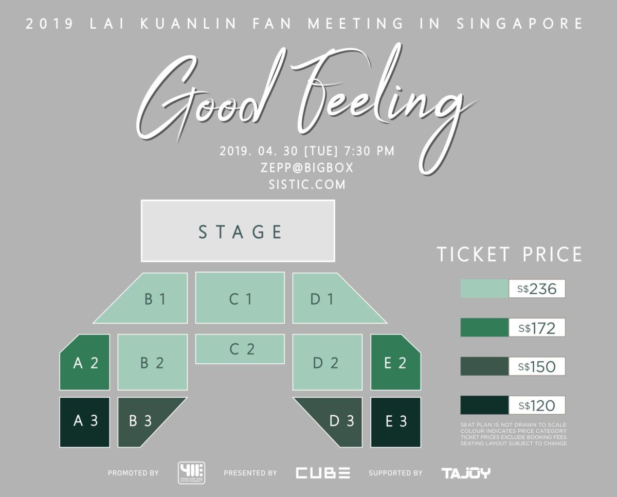 """Ex-Wanna One Taiwanese member Lai Kuanlin to bring a """"Good Feeling"""" fan meet to Singapore"""