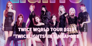 TWICE WORLD TOUR 2019 TWICELIGHTS IN SINGAPORE