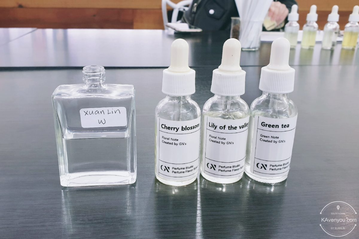 [TRAZY] Create your very own perfume in Seoul with GN Perfume Studio