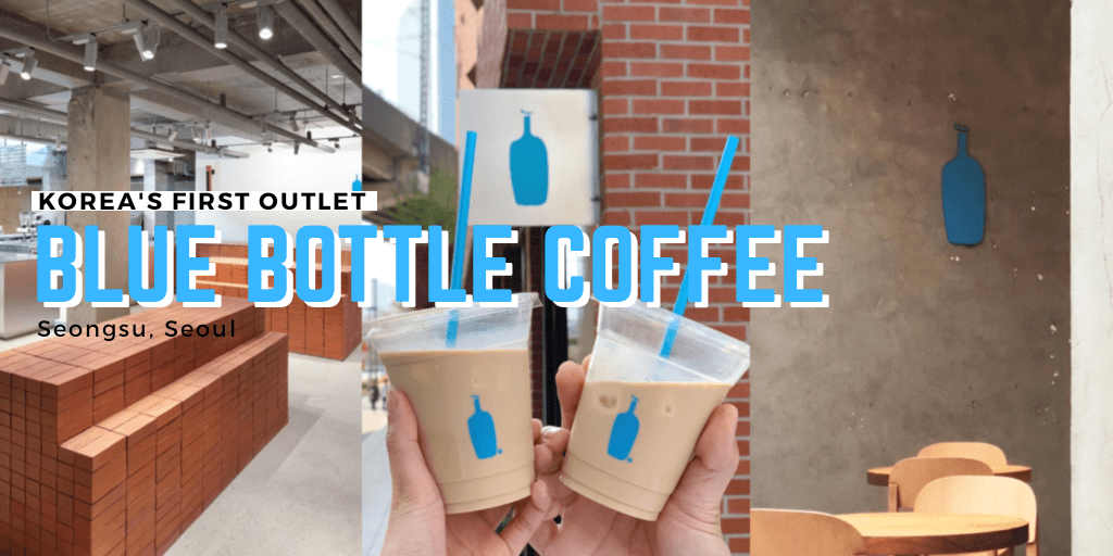 Korea's first Blue Bottle Coffee outlet opens in Seongsu on May 3
