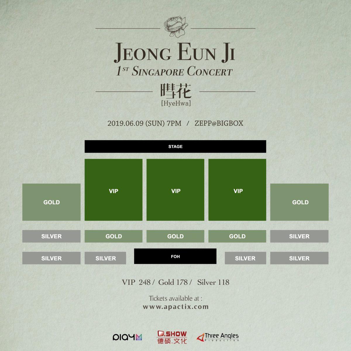 Jung Eunji to bring first Asia Solo Tour HyeHwa to Singapore