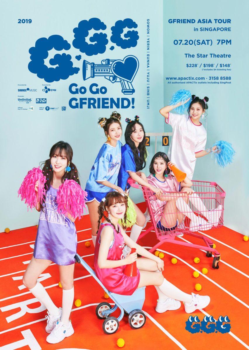 gfriend singapore concert 2019