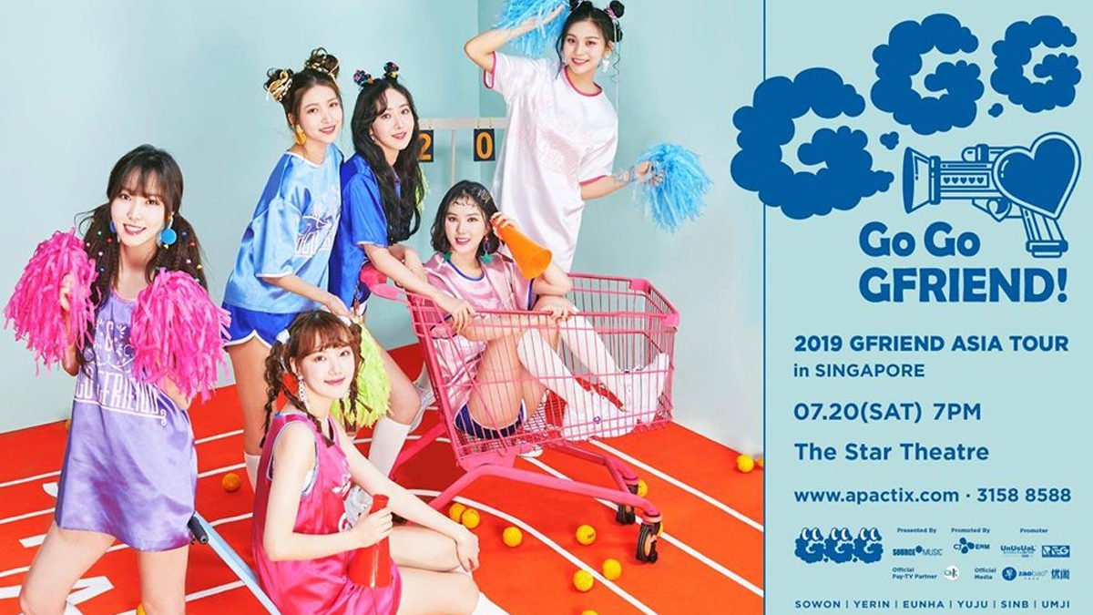 GFRIEND to meet Buddy in Singapore after 3 years for 2019 Asia Tour concert